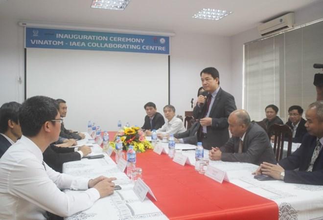 Inauguration du Centre de coopération AIEA-VINATOM sur l