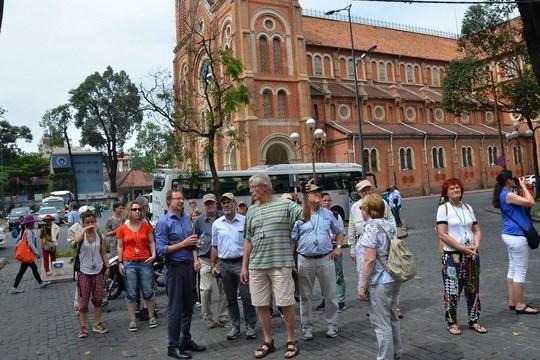 Hô Chi Minh-Ville accueille plus de 2,2 millions de touristes étrangers en trois mois