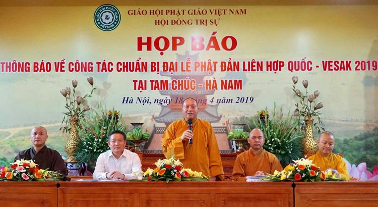 Le Vietnam accueillira à mi-mai la fête de Vesak 2019