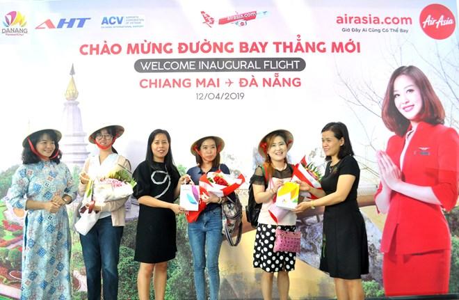 AirAsia: le premier vol direct Da Nang et Chiang Mai
