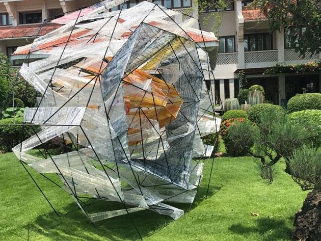 Exposition d'art contemporain de grande envergure à Hôi An