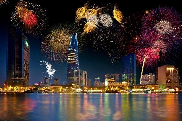 30 avril : Hô Chi Minh-Ville tirera des feux d'artifice dans trois lieux