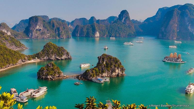 La baie d'Ha Long, l'une des 25 plus belles merveilles naturelles du monde