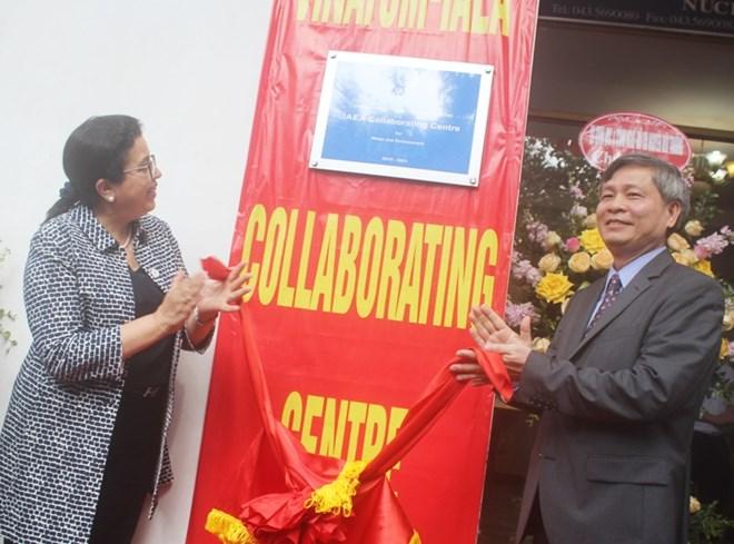Le centre collaborateur d'AIEA - VINATOM inauguré à Hanoi