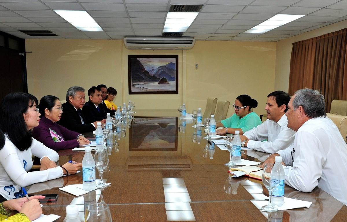 Ho Chi Minh-Ville sonde les opportunités de coopération avec Cuba