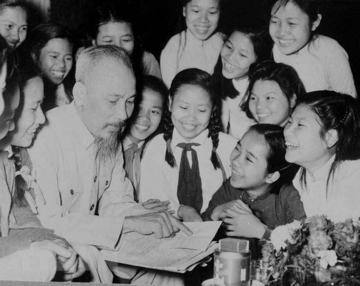 Des images éternelles du Président Hô Chi Minh