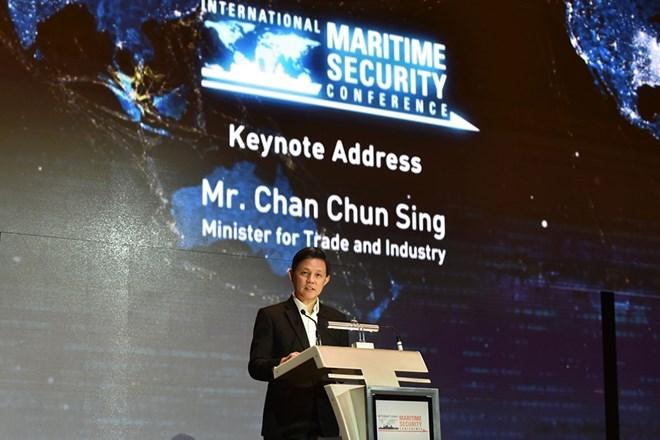 Sécurité maritime: Singapour insiste sur la confiance et la coopération