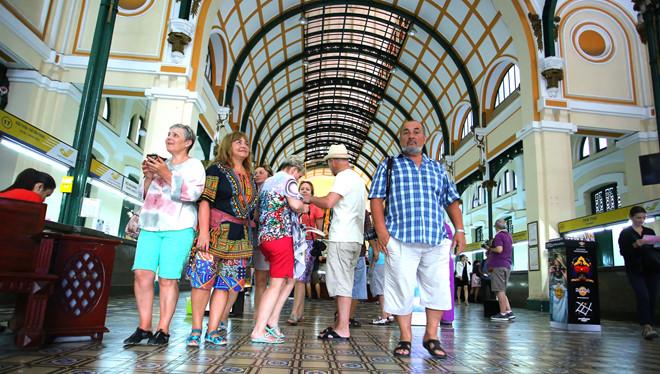 Ho Chi Minh-Ville attire de plus en plus de touristes
