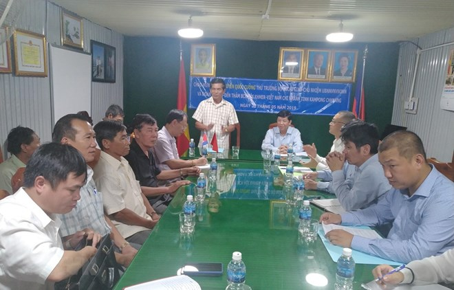 Assistance aux personnes d'origine vietnamienne au Cambodge