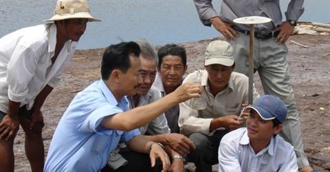 La Belgique aide le Vietnam dans la gestion de l'eau
