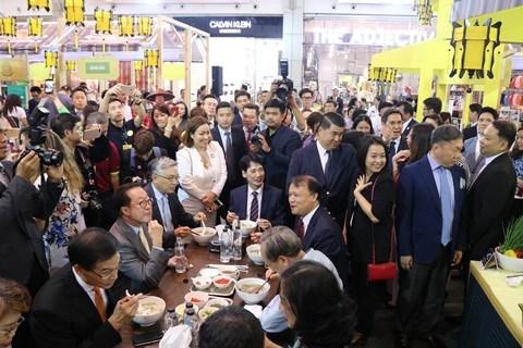 Semaine des marchandises vietnamiennes en Thaïlande 2019