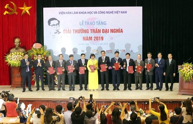 Le Prix Trân Dai Nghia honore des travaux scientifiques exceptionnels