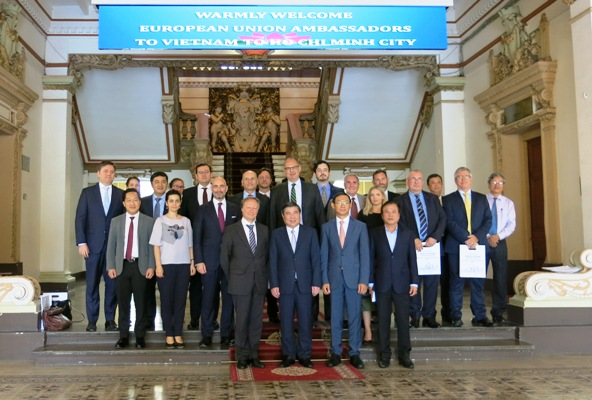 Promotion des relations entre Hô Chi Minh-Ville et l