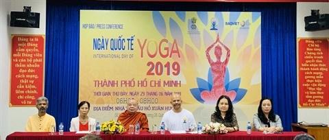 La 5e Journée internationale du yoga au Vietnam