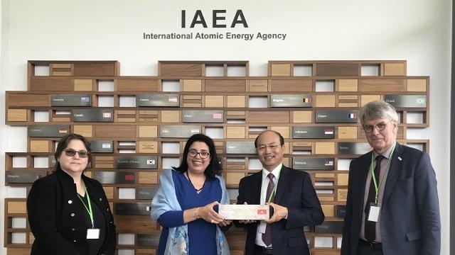 Le Vietnam contribue activement au développement de l'IAEA