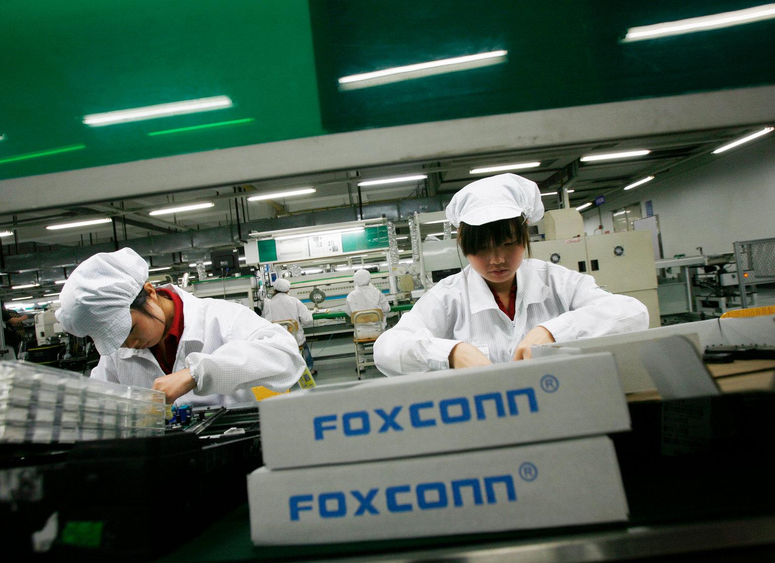 Projet de 40 millions de dollars de Foxconn  à Quang Ninh