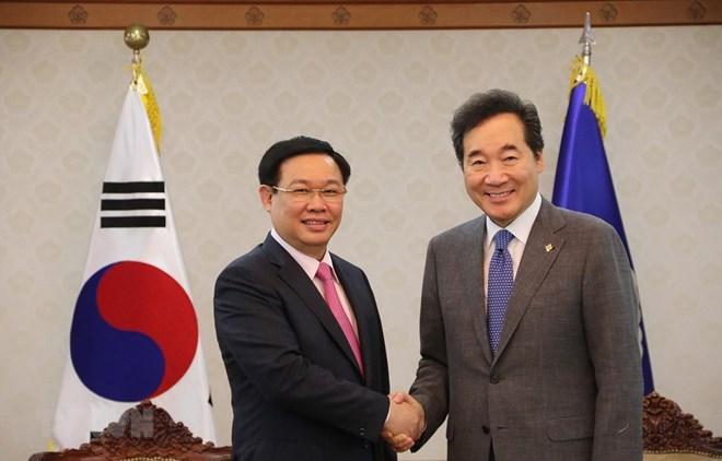 Le Vietnam et la R.de Corée s'efforcent d'atteindre un commerce bilatéral de 100 milliards d