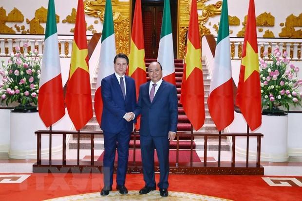 Vietnam-Italie: entretien entre les deux Premiers ministres