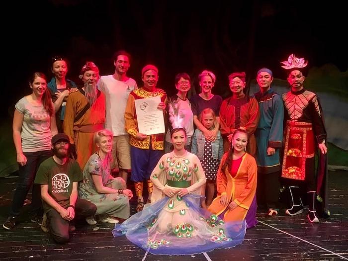 Le Tuong vietnamien présenté au festival international des théâtres