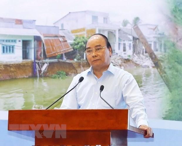 Le PM souligne la prévention pour faire face aux catastrophes naturelles