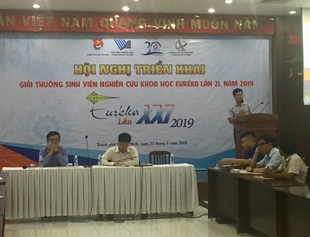 Le concours national de recherche scientifique débute à HCM-V