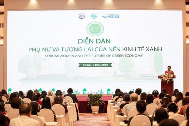 Reconnaissance du rôle des femmes dans le développement de l'économie verte