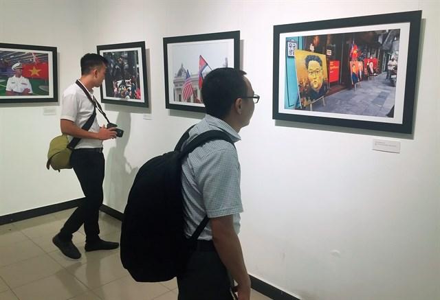 Exposition de photos pour célébrer la journée de la presse révolutionnaire