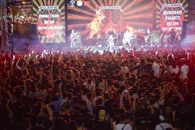Un concert rock recueille des fonds pour les enfants des régions isolées