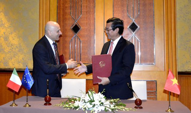Le Vietnam et l'Italie signent une coopération en matière d