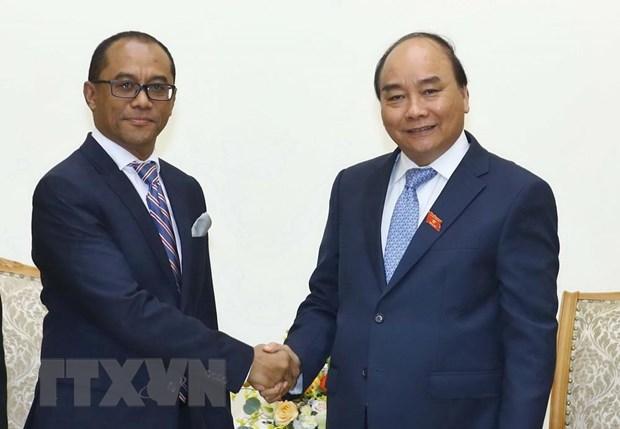 Le Premier ministre reçoit le ministre des AE et de la Coopération du Timor-Leste