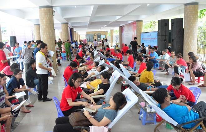 Fête du don de sang volontaire à Da Nang