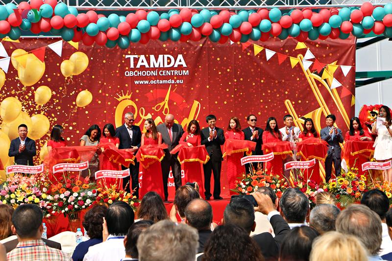 Usti nad Labem (R. tchèque): inauguration d'un centre commercial d'une entreprise vietnamienne