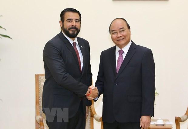 Le Premier ministre Nguyen Xuan Phuc reçoit l