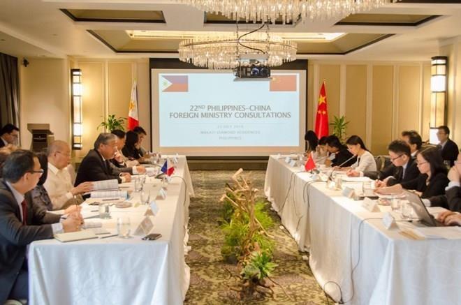 La 22e consultation diplomatique entre les Philippines et la Chine