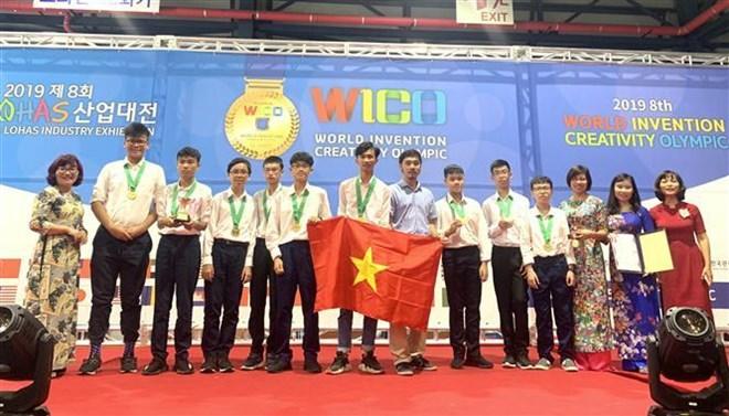 Des élèves de Hanoi remportent des médailles d'or à un concours international d'invention à Séoul