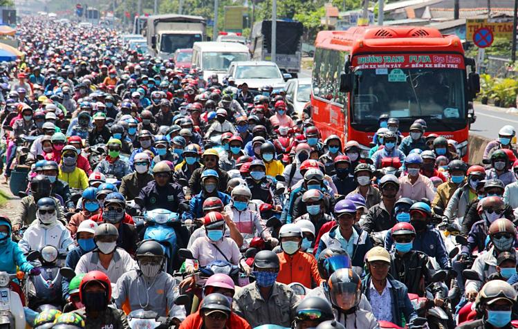 [Infographic] La population du Vietnam dépasse 96 millions d'habitants