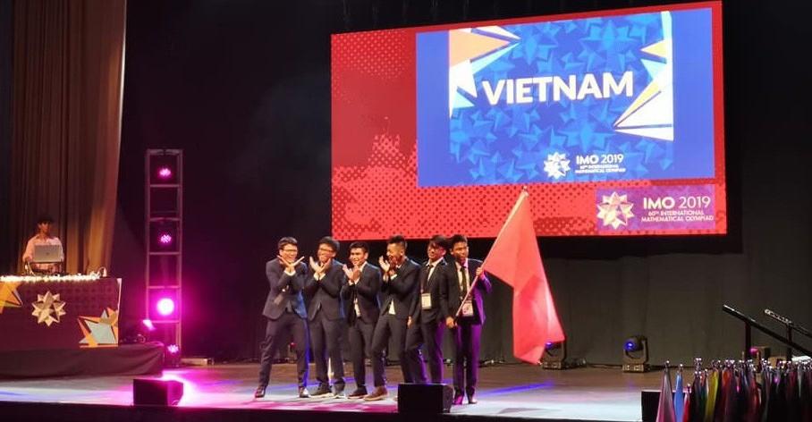 Maths: le Vietnam remporte deux médailles d