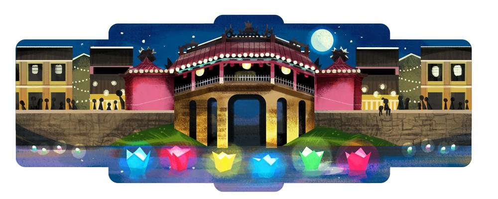 L'ancienne cité de Hoi An à l'honneur sur Google Doodle