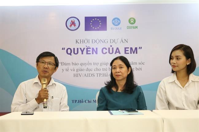 Un projet pour aider les enfants séropositifs lancé à HCM-Ville