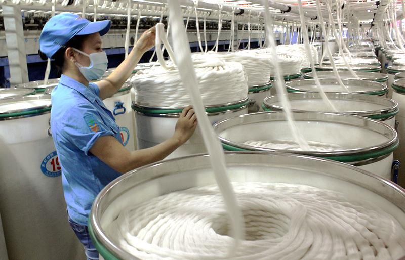 1er semestre: les exportations vietnamiennes de fibres textiles dépassent deux milliards de dollars