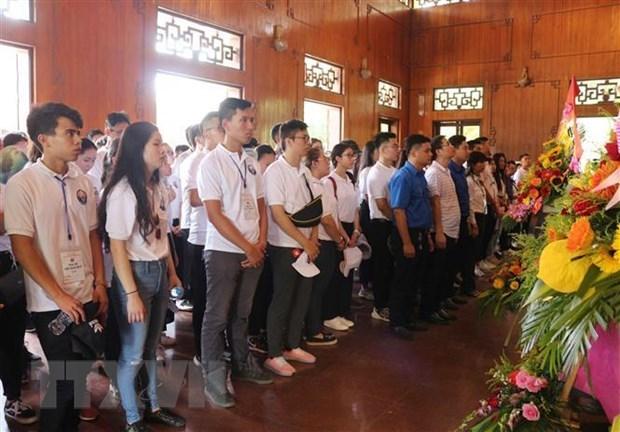 Camp d'été 2019: poursuite des activités des jeunes Viet Kieu à Nghe An