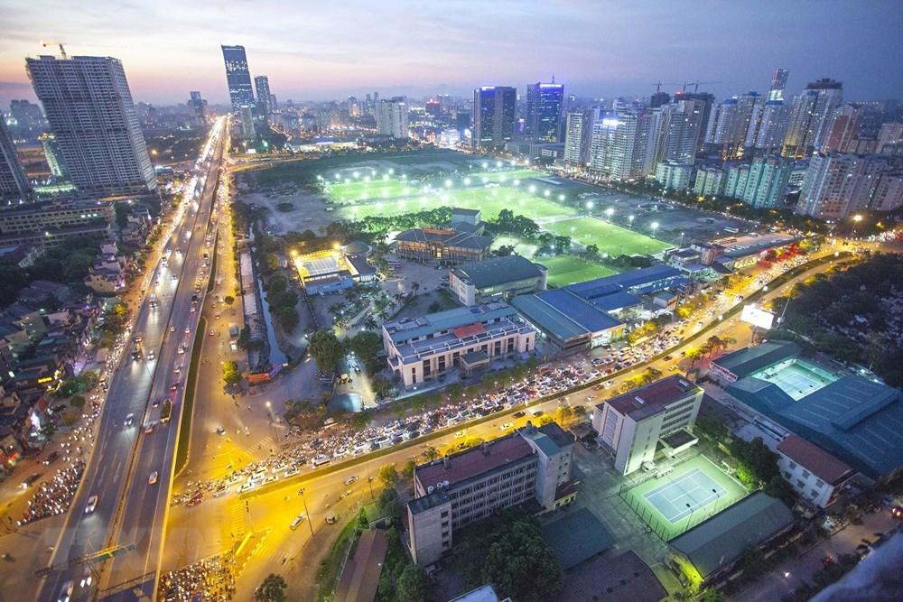 La modernité de Hanoi vue du ciel