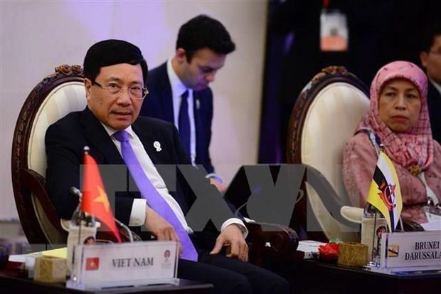 ASEAN: des activités du vice-Premier ministre Pham Binh Minh en Thaïlande