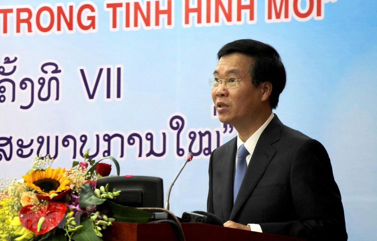 Vietnam et Laos tiennent le 7e séminaire théorique entre le PCV et le PPRL