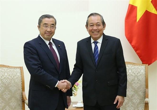 Renforcement du partenariat stratégique approfondi Vietnam-Japon