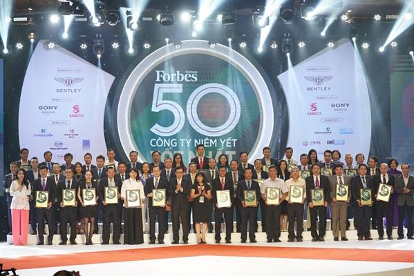 Bourse : Forbes Vietnam honore le top 50 des entreprises cotées