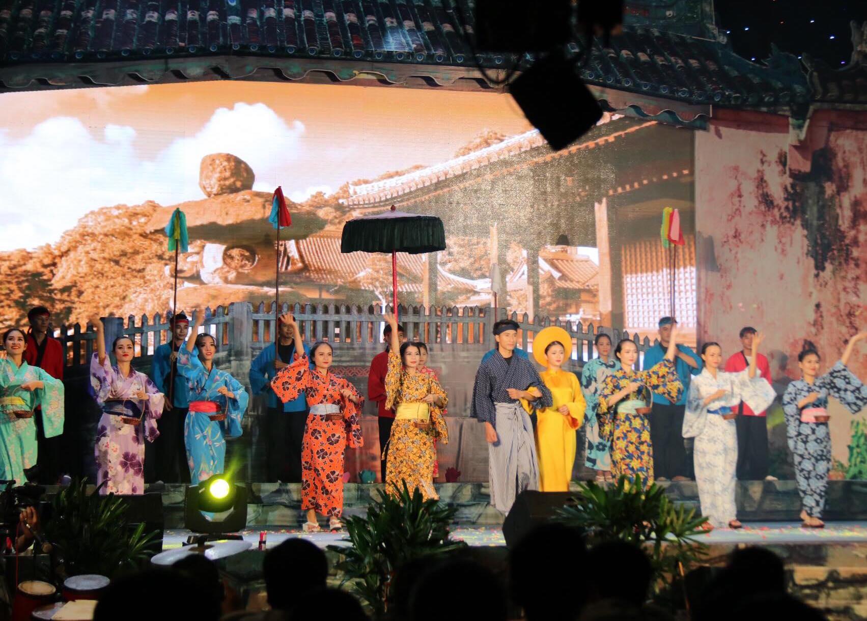 Ouverture du 17ème échange culturel Hoi An - Japon