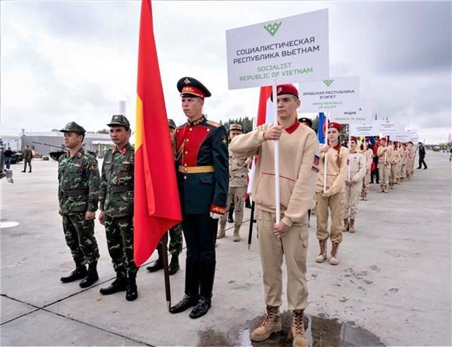 Le Vietnam participe aux «International Army Games» 2019 en Russie