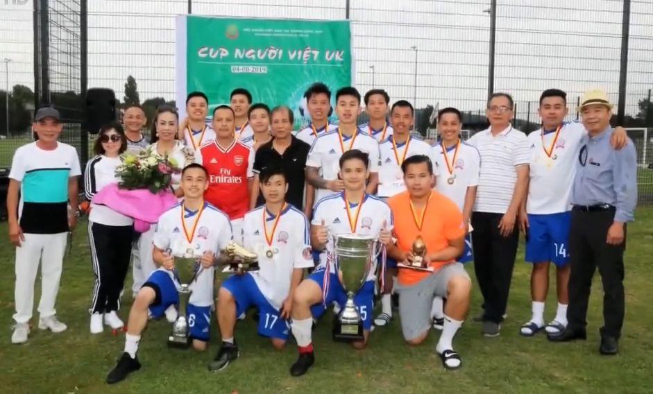 Coupe de football 2019 pour les Vietnamiens au Royaume-Uni