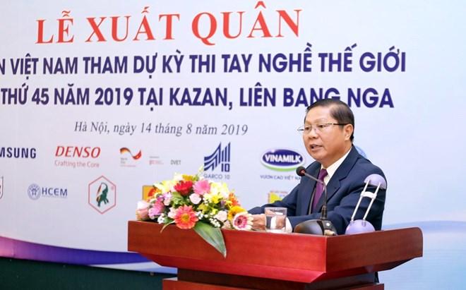Le Vietnam envoie 19 candidats à la Compétition internationale de compétences